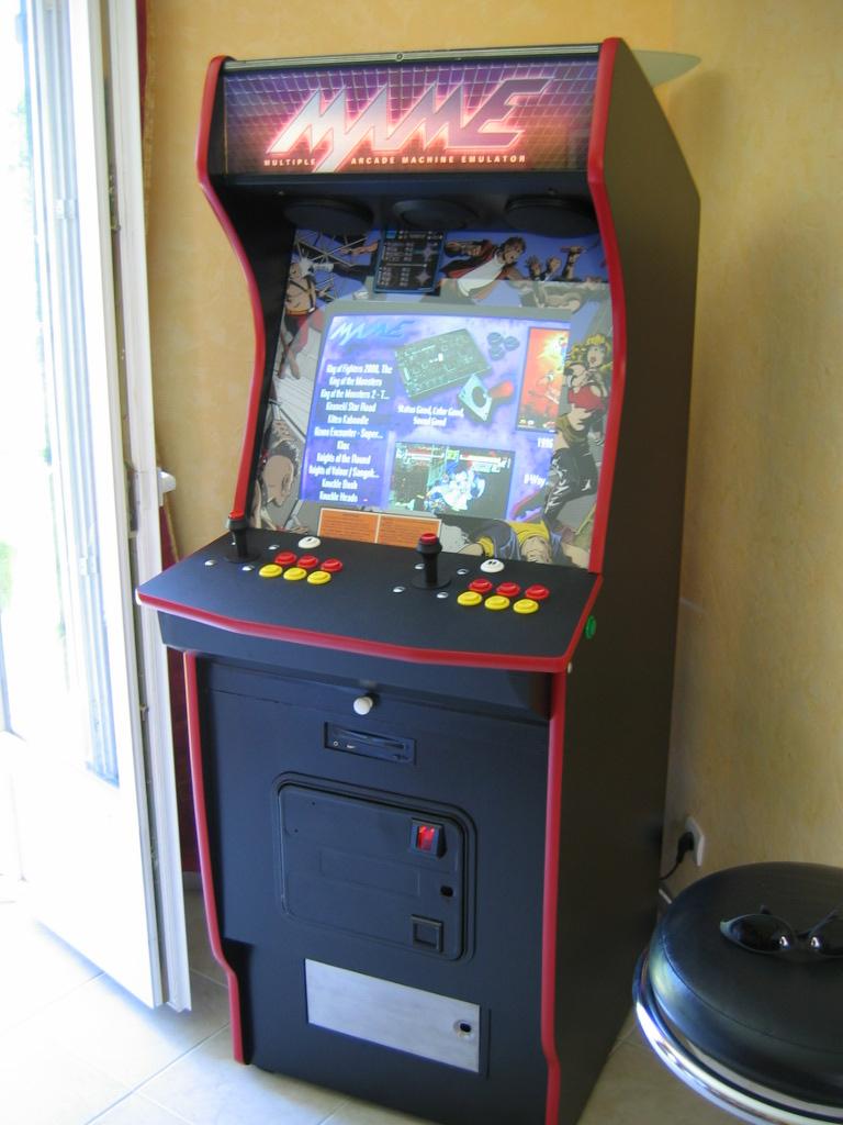 borne arcade emulator